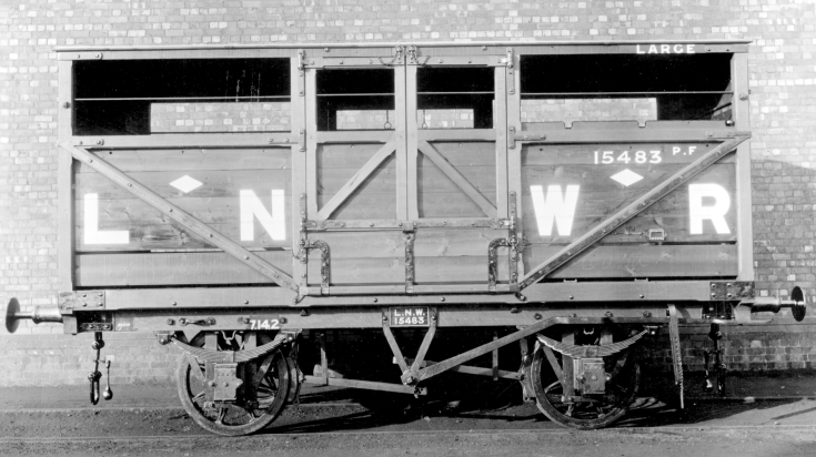 LNWR Cattle Wagon