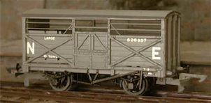 GE/LNER Large Cattle Van