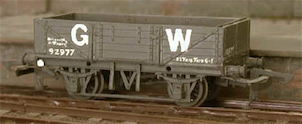 GWR 5 plank China Clay wagon